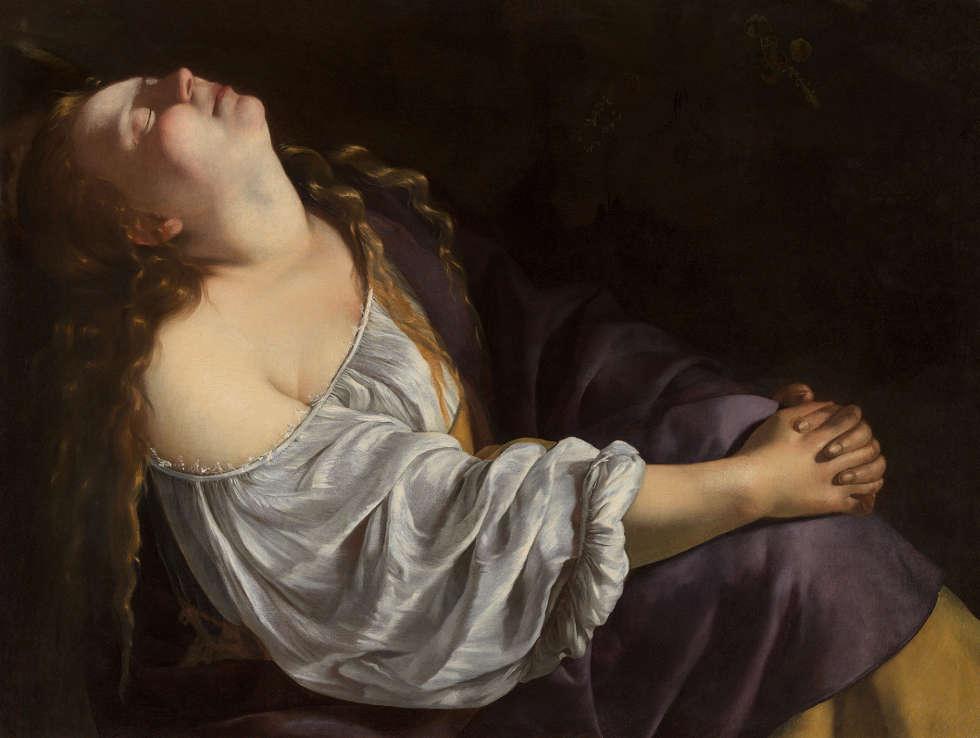 Artemisia Gentileschi, Maria Magdalena, 1620/25, ÖlLw (Privatsammlung © Foto Dominique Provost)