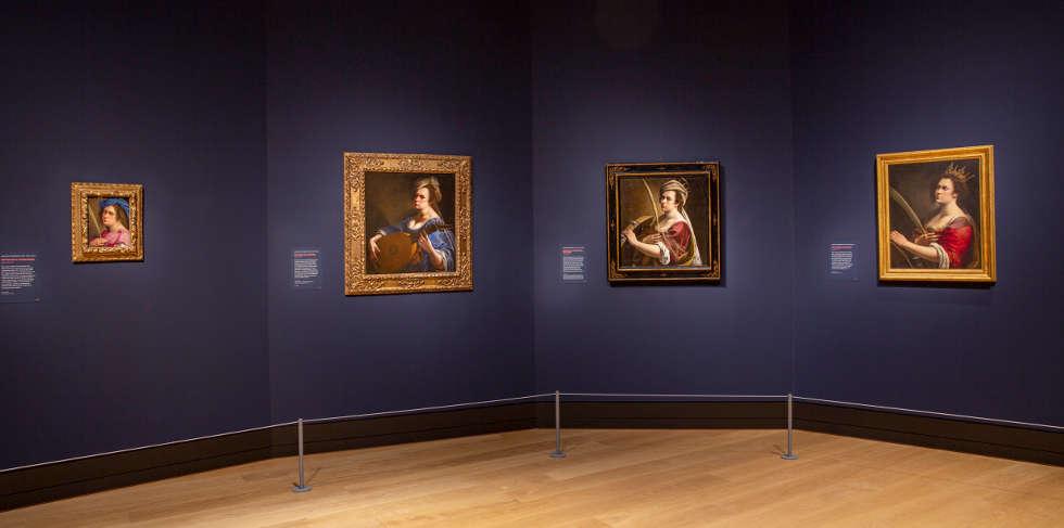 Artemisia Gentileschi, Selbstporträts, The National Gallery, London 2020