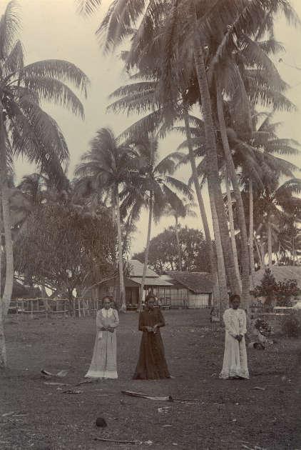 Arthur Baessler, Tautira, 1896–1898, Fotografie (© bpk / Ethnologisches Museum, Staatliche Museen zu Berlin / Annette Hlawa)