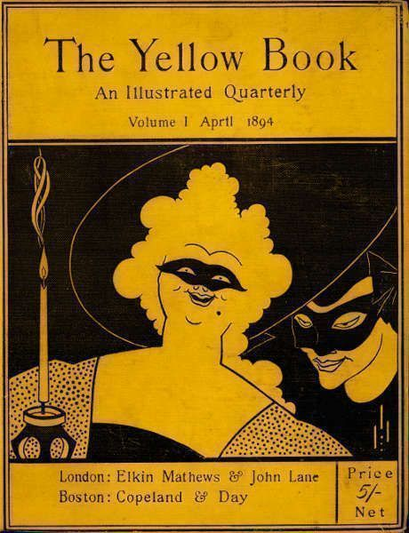 Aubrey Beardsley, The Yellow Book, Band I, 1894 (Stephen Calloway Photo: © Tate)