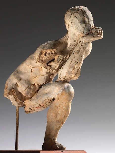 Auguste Rodin, Der Denker, Studie, 1881 (Musée Rodin, S.01168)