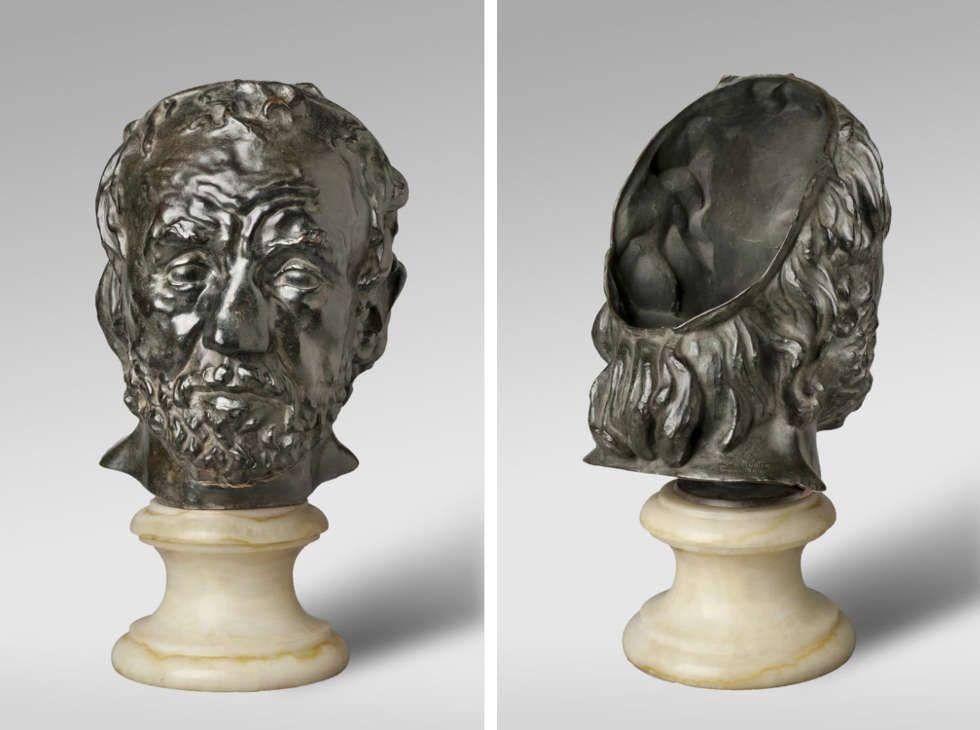 Auguste Rodin, Der Mann mit der gebrochenen Nase, modelliert 1863/64, gegossen 1925, Bronze (© Philadelphia Museum of Art)