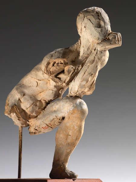 Auguste Rodin, Studie für Der Denker, 1881 (Musée Rodin, Paris, S.01168)