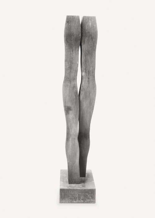 Joannis Avramidis, Der Schreitende, 1966–1969, Bronze, H: 171,5 cm (Staatsgalerie Stuttgart, Foto: Archiv Joannis Avramidis, Wien).