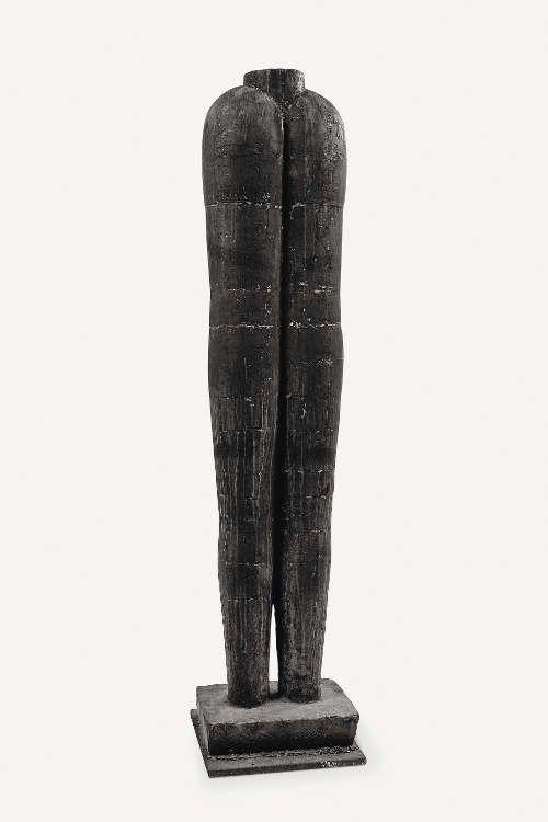 Joannis Avramidis, Kouros – Großer Torso, 1956, Bronze, H: 152 cm, Foto: Gunther Balzer, Kaiserslautern