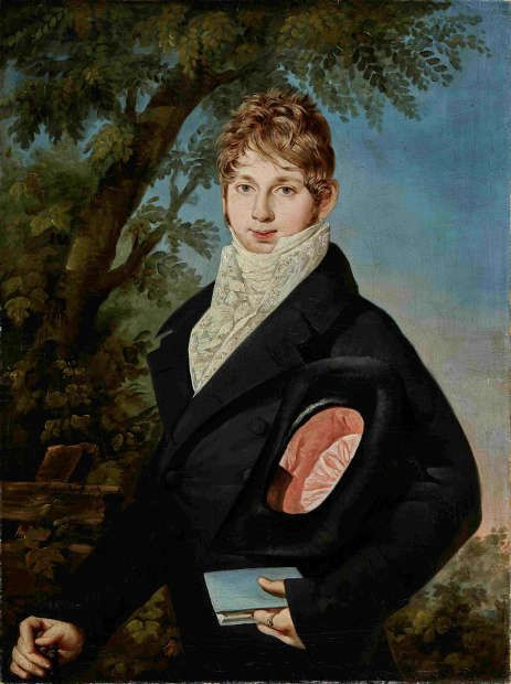 Barbara Krafft, Porträt des Alois Lergetporer, 1811, Öl auf Leinwand (© Salzburg Museum)