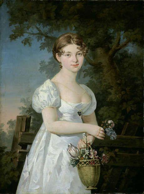 Barbara Krafft, Porträt der Anna Maria Lergetporer, geborene Triendl, 1811, Öl auf Leinwand (© Salzburg Museum)