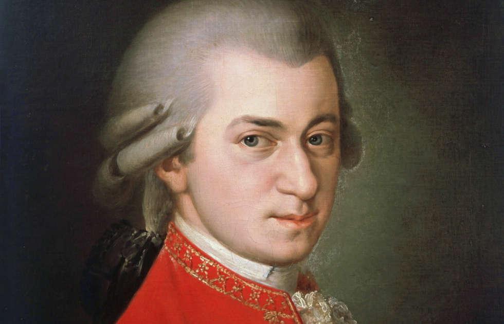 Barbara Krafft, Wolfgang Amadeus Mozart, Detail, 1819 (Gesellschaft der Musikfreunde, Wien)