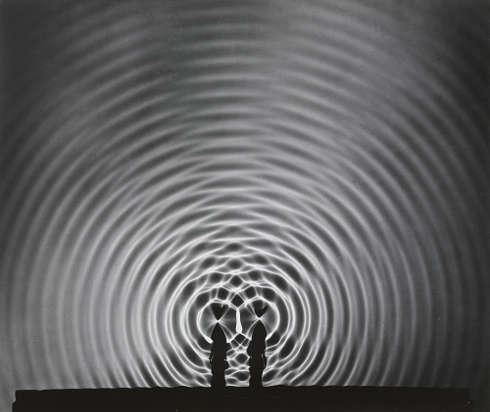 Berenice Abbott, Interference of Waves, 1958–1961 © Berenice Abbott Archive