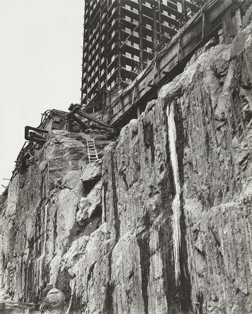 Berenice Abbott, Rockefeller Center, New York City, 1932 © Berenice Abbott Archive
