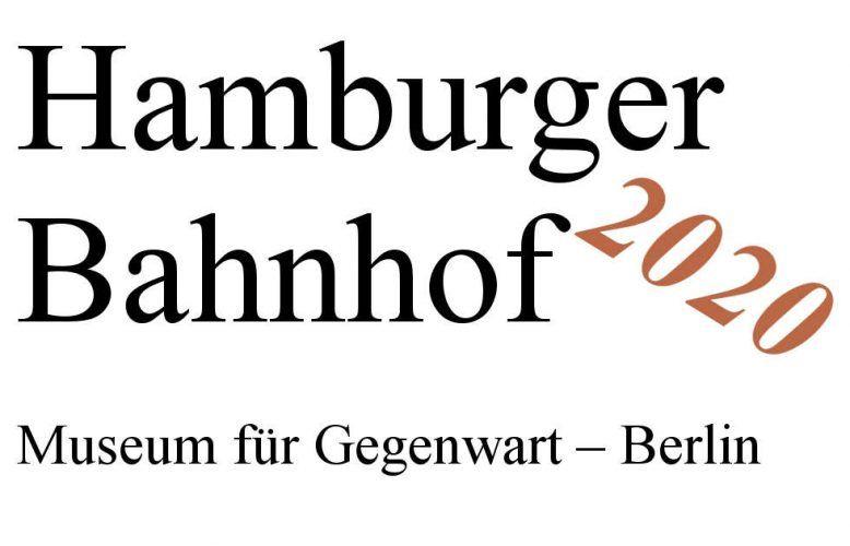 Berlin, Hamburger Bahnhof, Ausstellungen 2020