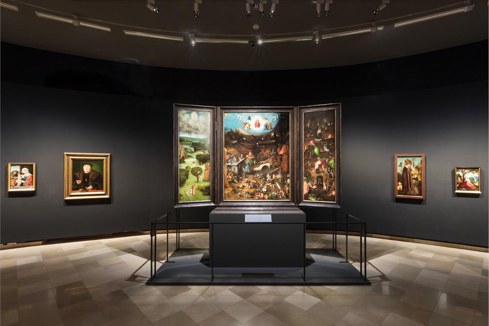 Bosch, Weltgerichtsaltar im Theatermuseum
