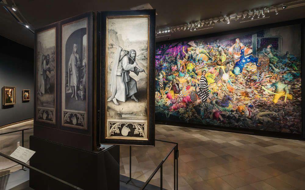 Bosch und Burgert, Gemäldegalerie der Akademie der bildenden Künste Wien zu Gast im Theatermuseum © Lisa Rastl