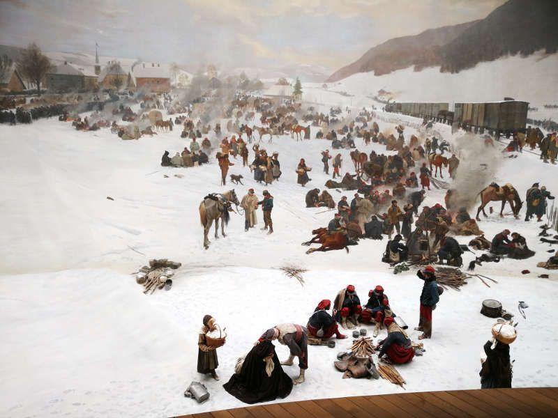 Bourbaki-Panorama (2), 1881 (Bourbaki-Museum, Luzern)