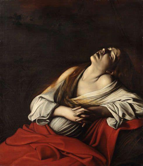 Caravaggio, Maria Magdalena in Ekstase [Magdalena Klain], 1606, Öl/Lw, 106,5 x 91 cm (Privatsammlung, Rom)