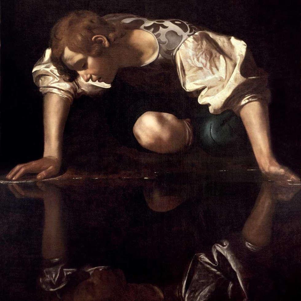 Caravaggio, Narziss, 1598/99 (© Photo: Gallerie Nazionali di Arte Antica die Roma – Bibliotheca Hertziana, Istituto Max Planck per la storia dell'arte / Enrico Fontolan)