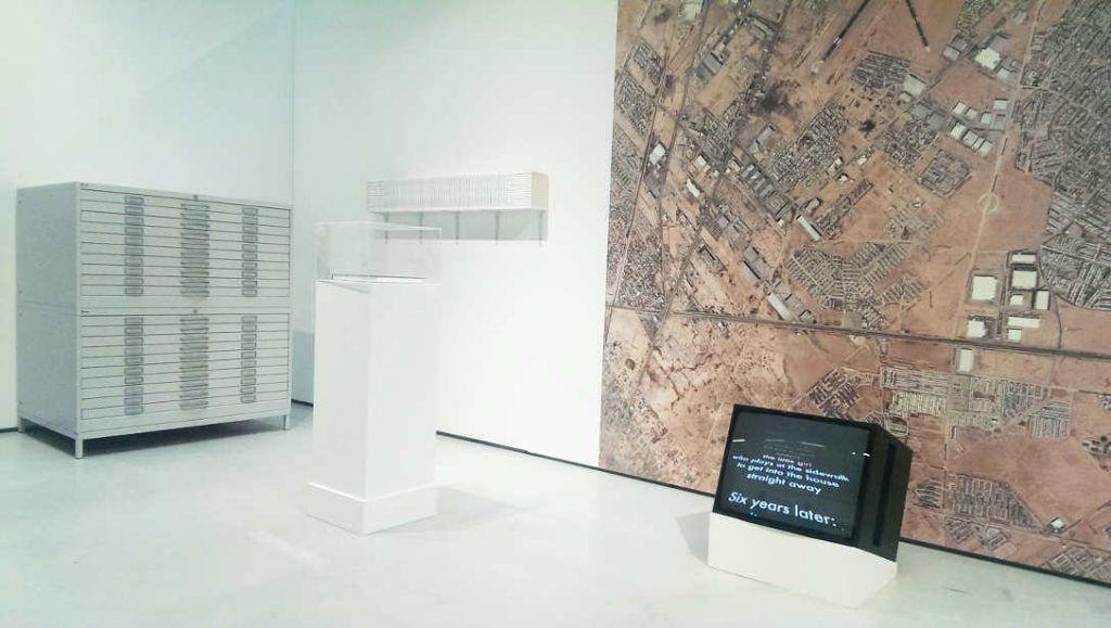 Carine und Elisabeth Krecké, 404, 2016, Ausstellungsansicht MUSA 2016, Foto: Alexandra Matzner.