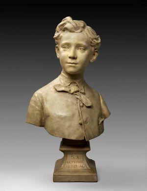 Jean-Baptiste Carpeaux, Büste des Prinzen, 1865 (Houston, Texas, The Museum of Fine Arts)