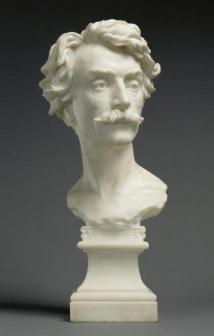 Jean-Baptiste Carpeaux, Büste von Jean-Léon Gêrome, 1872/73 (Los Angeles, California, The J. Paul Getty Museum)
