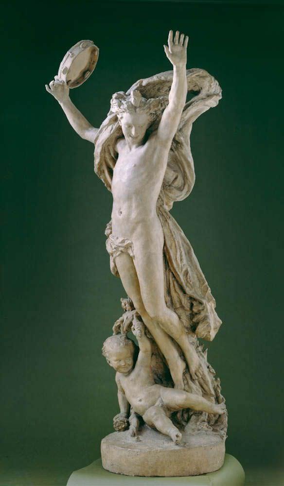 Jean-Baptiste Carpeaux, Génie de la Danse (Genius des Tanzes), Studie, 1866 (New Haven, Connecticut, Yale University Art Gallery)