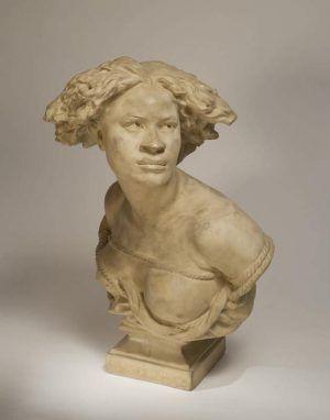 Jean-Baptiste Carpeaux, Négresse ou Pourquoi naître esclave (Negerin oder Warum als Sklavin geboren), 1868 (Houston, Texas, The Menil Collection)