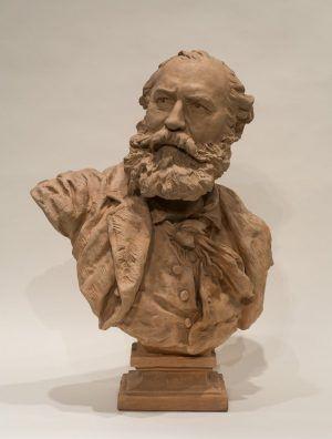 Jean-Baptiste Carpeaux, Portrait von Charles Gounod, 1873 (Williamstown, Massachusetts, Sterling and Francine Clark Art Institute)