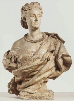 Jean-Baptiste Carpeaux, Prinzessin Mathilde, 1862 (Philadelphia, Pennsylvania, Philadelphia Museum of Art)