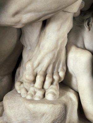 Jean-Baptiste Carpeaux, Ugolino und seine Söhne, Füße, 1860 (The Metropolitan Museum, New York)