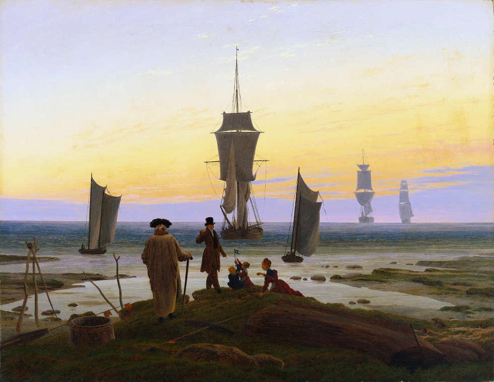 Caspar David Friedrich, Lebensstufen, um 1834, Öl/Lw, 72,5 x 94 cm (Museum der bildenden Künste, Leipzig, Foto: InGestalt Michael Ehritt)