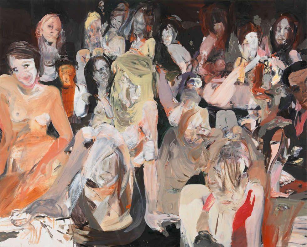 Cecily Brown, All the Nightmares Came Today, 2012, Öl/Leinen, 170,2 × 211 cm (Iris & Matthew Strauss Collection, Rancho Santa Fe, California © Cecily Brown. Photo: Robert McKeever)