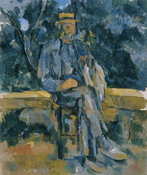 Paul Cézanne, Porträt eines Bauern, 1905/06 (Madrid, Museo Thyssen-Bornemisza, 1976_68)