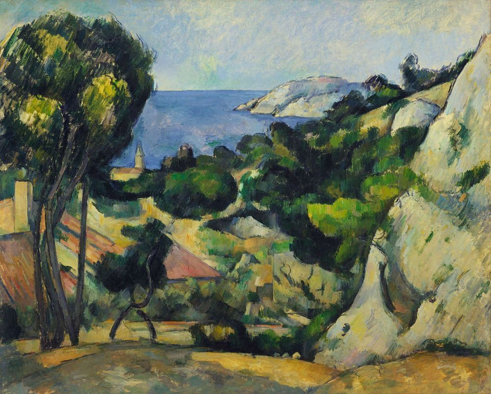 Paul Cézanne, L'Estaque, 1879–1883 (The Museum of Modern Art, New York), Foto: Digital Image, Scala/Florence.