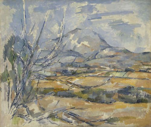 Paul Cézanne, Montaigne Sainte-Victoire, 1880–1885 (Scottish National Gallery, Edinburgh)
