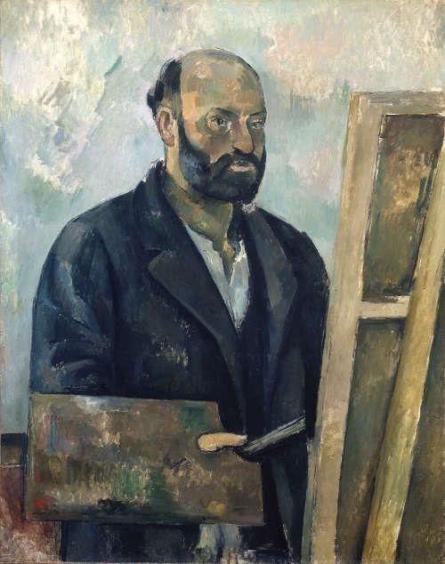 Paul Cézanne, Selbstbildnis mit Palette, um 1890 (Stiftung Sammlung E.G. Bührle, Zürich), Foto: SIK Zürich (J.-P. Kuhn)