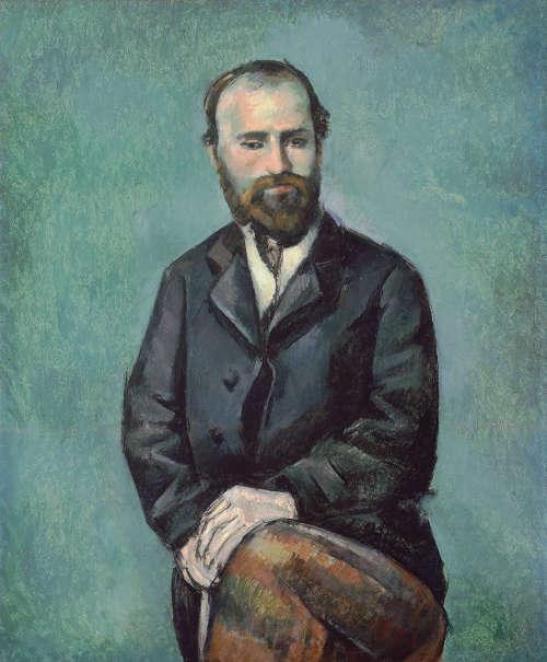 Paul Cézanne, Selbstporträt, um 1885 (Carnegie Museum of Art, Pittsburgh)