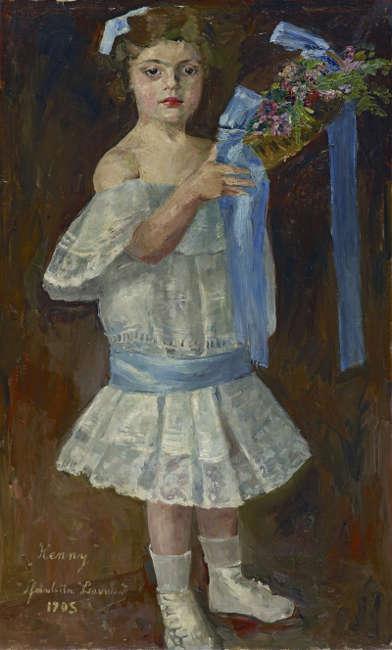 Charlotte Berend-Corinth, Henny (Henriette Seckbach), 1905, Leinwand, 97 cm x 59 cm (Städtische Galerie im Lenbachhaus und Kunstbau München, © Rechtsnachfolge der Künstlerin)