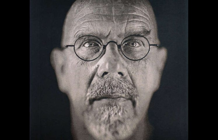Chuck Close, Self-Portrait, Detail, 2009 (Albertina, Wien)