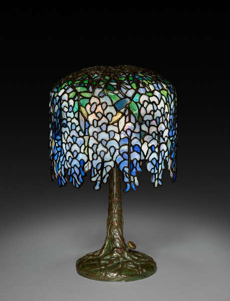 Clara Wolcott Dricoll, Tiffany Studios, Wisteria Lamp, um 1902–1910 (Cleveland Museum of Art, Bequest of Charles Maurer 2018.285)