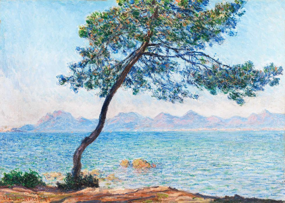 Claude Monet, Antibes, 1888, Öl/Lw, 65.5 × 92.4 cm (© The Samuel Courtauld Trust, The Courtauld Gallery, London)