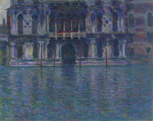 Claude Monet, Der Palazzo Contarini, 1908 (Privatsammlung)