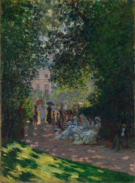 Claude Monet, Parc Monceau, 1878, Öl/Lw (The Metropolitan Museum of Art)