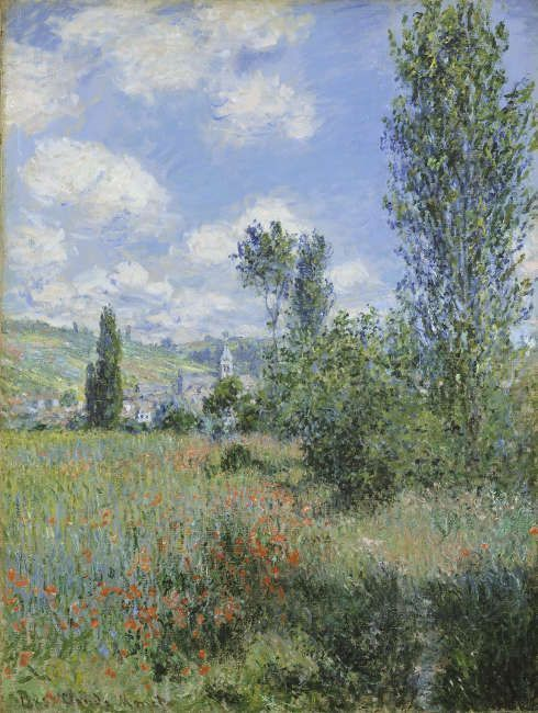 Claude Monet, Pfad durch die Mohnblumen auf der Insel Saint-Martin, 1880, Öl/Lw (The Metropolitan Museum of Art, New York, Nachlass Julia W. Emmons © The Metropolitan Museum of Art)