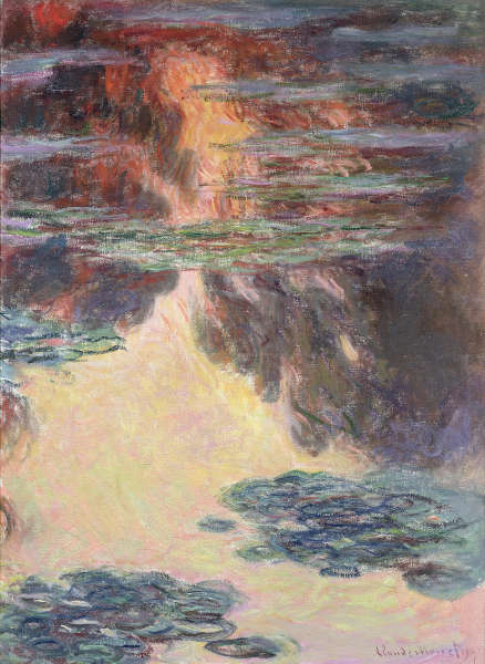 Claude Monet, Seerosen, 1907 (© Musée Marmottan Monet, Paris / The Bridgeman Art Library)