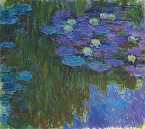 Claude Monet, Seerosen, um 1914-1917 (Privatsammlung)