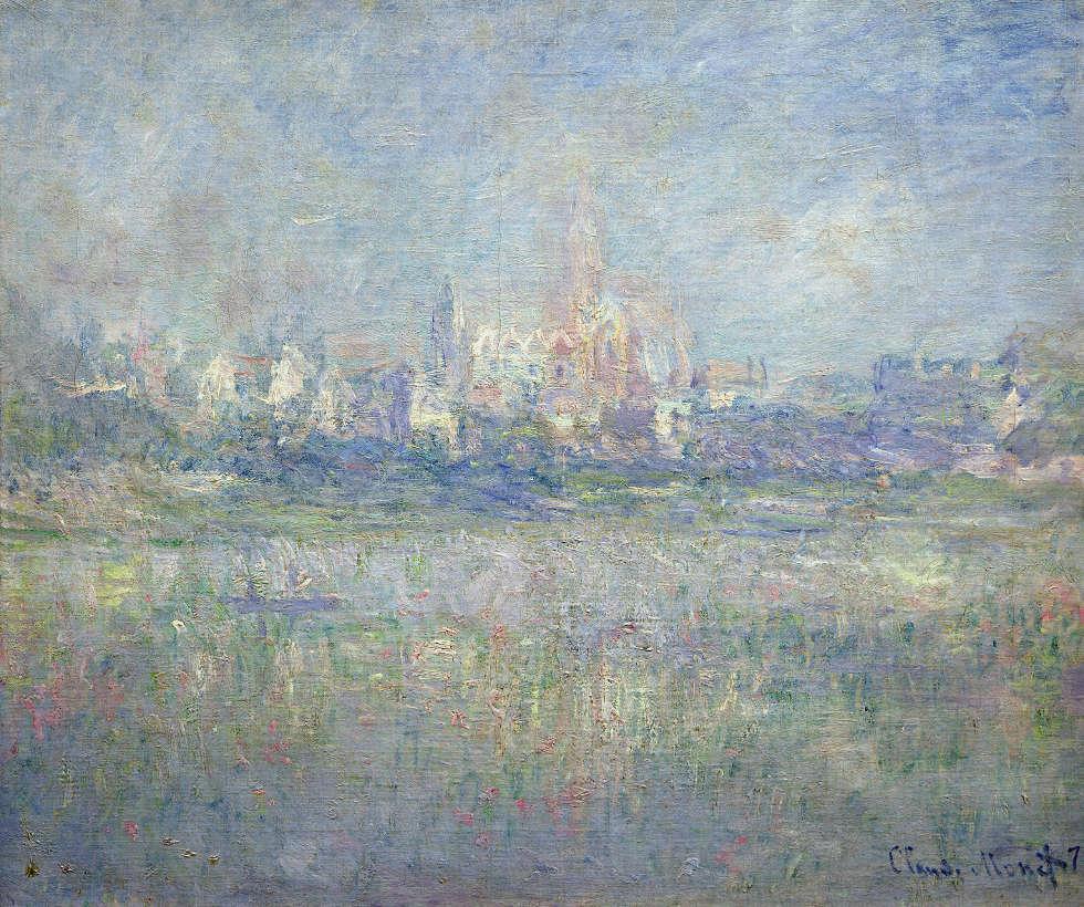 Claude Monet, Vétheuil im Nebel, 1879, Öl/Lw, 60 x 71 cm (Musée Marmottan Monet, Paris © Musée Marmottan Monet, Paris)