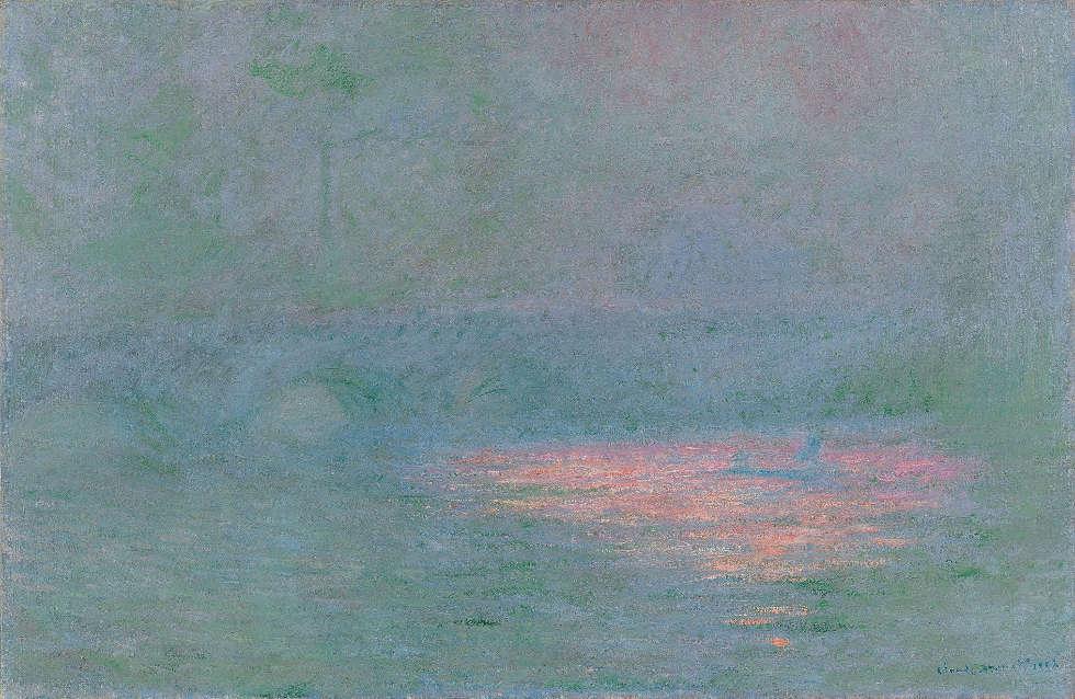 Claude Monet, Waterloo Bridge, 1902, Öl/Lw, 65 x 100 cm (Kunsthaus Zürich, Geschenk Walter Haefner, 1995)