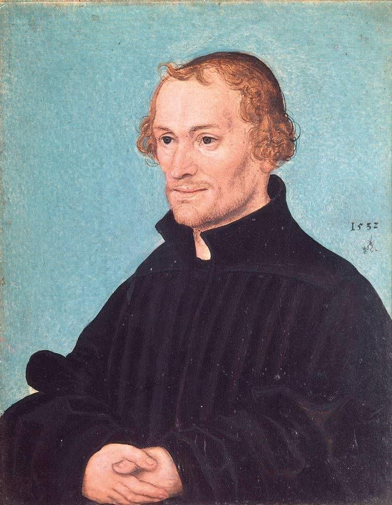 Lucas Cranach d. J., Philipp Melanchthon, 1532 (München)