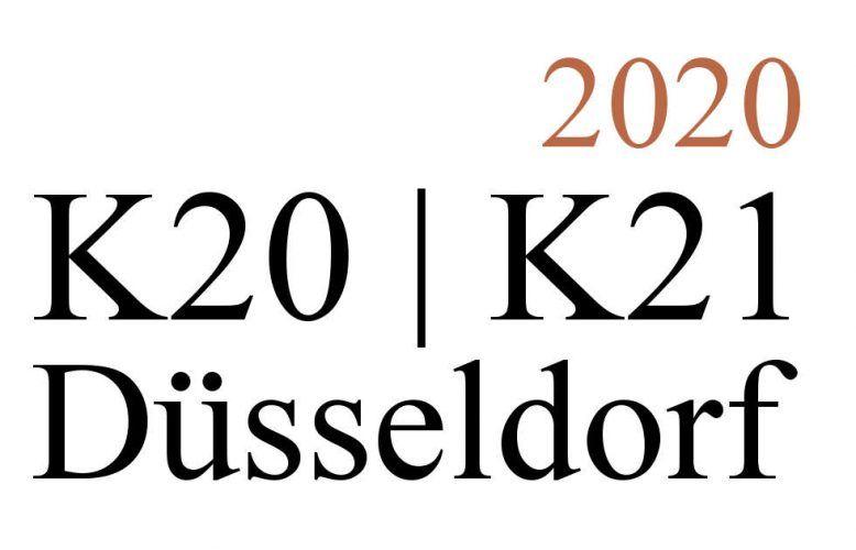Düsseldorf K20-K21, Ausstellungen 2020