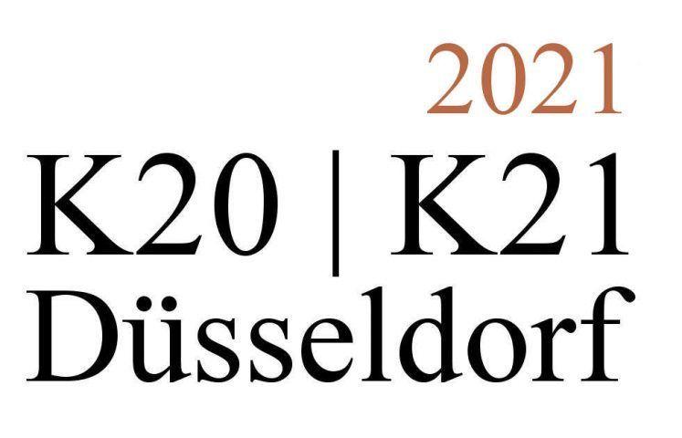 Düsseldorf K20-K21, Ausstellungen 2021