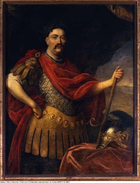 Daniel Schultz d.J., Jan III. Sobieski, König von Polen, um 1680/90, Öl auf Leinwand, 139,5 × 113 cm (Warschau, Nationalmuseum)